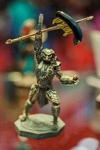 "Eaglemoss' ""Aliens vs. Predator: Predator"" Figurine"