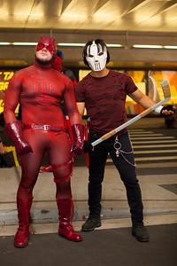 Daredevil & Casey Jones