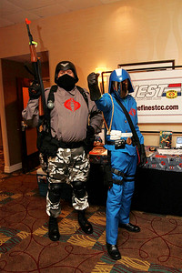 Cobra Officer & Cobra Commander