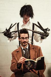 Edward Scissorhands & The Doctor