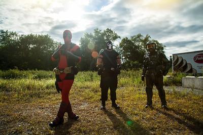 Deadpool, Bane, & Master Chief