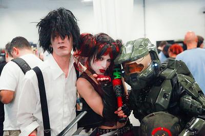 Edward Scissorhands, Harley Quinn, & Master Chief