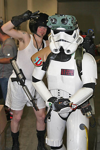 Spaceball & Imperial Ghostbuster Stormtrooper