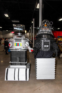 Robot B-9 and Robby the Robot
