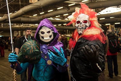 Skeletor & Ghost Rider