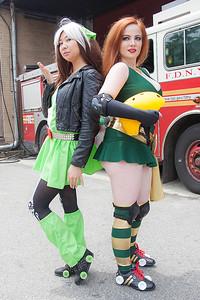 Roller Derby Rogue & Phoenix