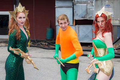 Aquaman & Mera(s)