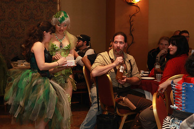 Voltaire's Absinthe-Tasting Party