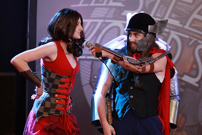 SPWF Costume Contest: Scarlet Witch & Thor