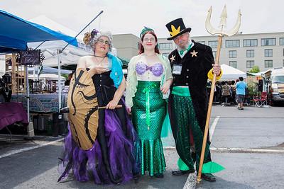 Ursula, Ariel, & King Neptune