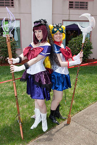 Sailor Saturn & Sailor Moon