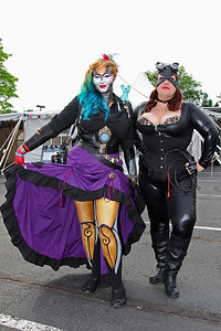 Steam Powered Mime & Catwoman