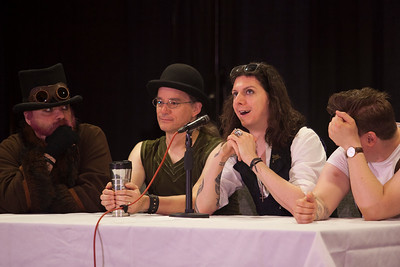 """Creativity In Steampunk"" Panel"