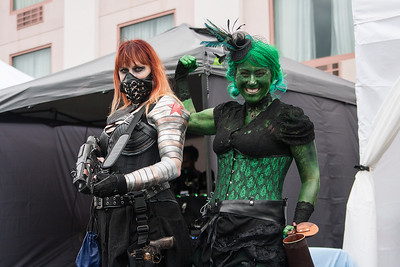 The Winter Soldier & She-Hulk