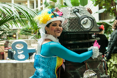 Wendy Wind-Up & Dalek