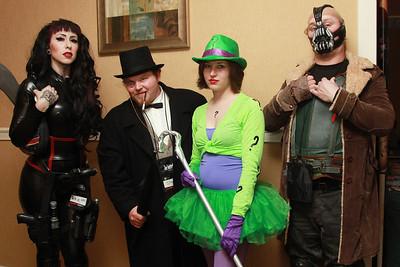 Talia Al Ghul, Penguin, Riddler, & Bane