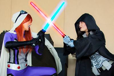 Jedi Starfire vs. Sith Lord Talia Al Ghul