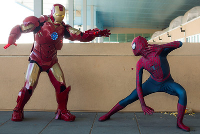 Iron Man vs. Spider-Man