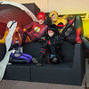 Flash, Jedi Starfire, Red Hood, & Reverse-Flash