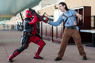 Deadpool vs. Ash Williams