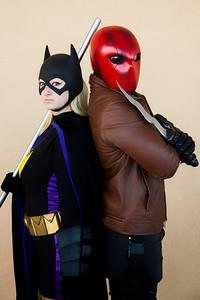 Batgirl & Red Hood