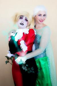 Harley Quinn & Poison Ivy/Elsa