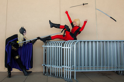 Batgirl vs. Lady Deadpool