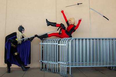 Batgirl vs. Lady Deadpool