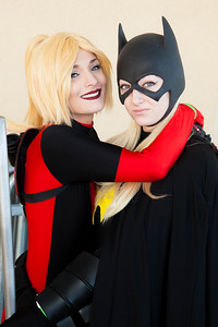Batgirl & Lady Deadpool
