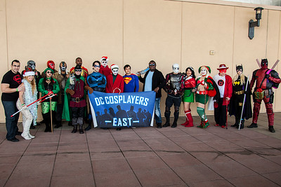 DC Cosplayers East