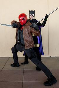Red Hood & Batgirl