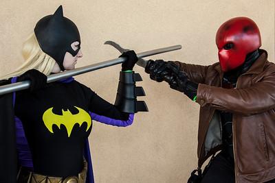 Batgirl vs. Red Hood