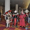 Fans of Warhammer (the miniatures my brother Mike makes) made costumes.