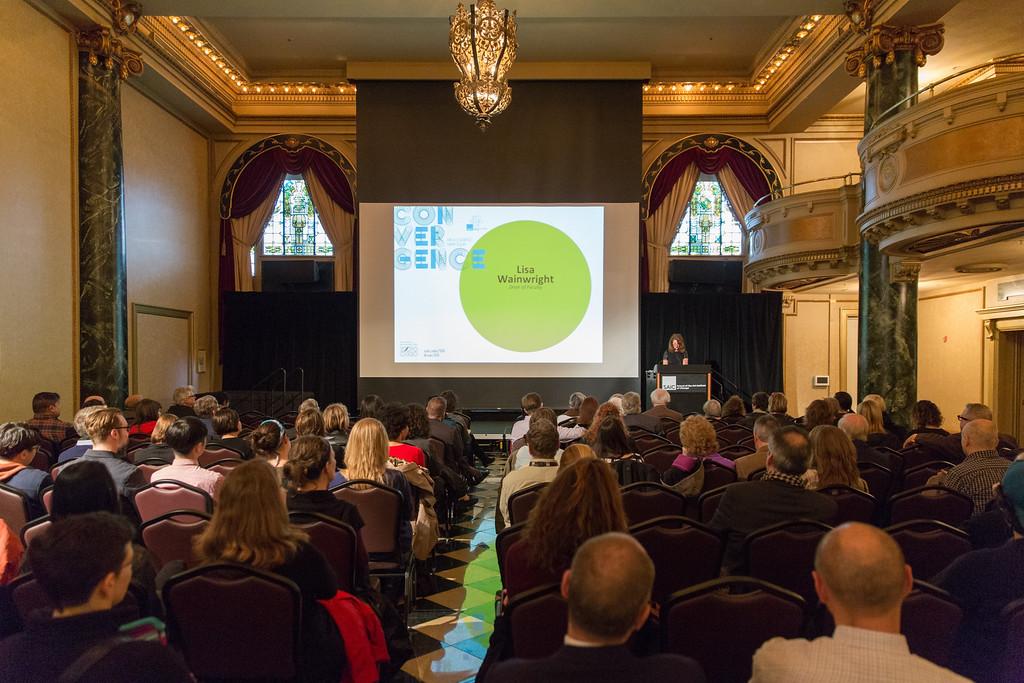 Convergence, SAIC's 150th Anniversary Academic Symposium, celebrates the renowned academic programs of the School of the Art Institute of Chicago (SAIC).