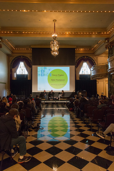 Convergence, SAIC's 150th Anniversary Academic Symposium, celebrates the renowned academic programs of the School of the Art Institute of Chicago (SAIC).