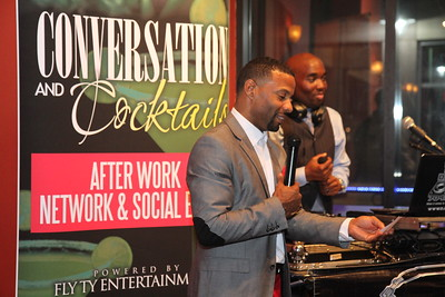 Conversation & Cocktails @ Sydney's hosted by Fly Ty & Jacenda Tuesday Sep 29, 2015