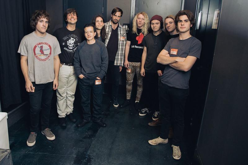 Converse Rubber Tracks - The Orwells 11.10.15