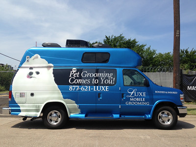 Luxe Grooming, Ford e250 with High Roof, Dallas, TX