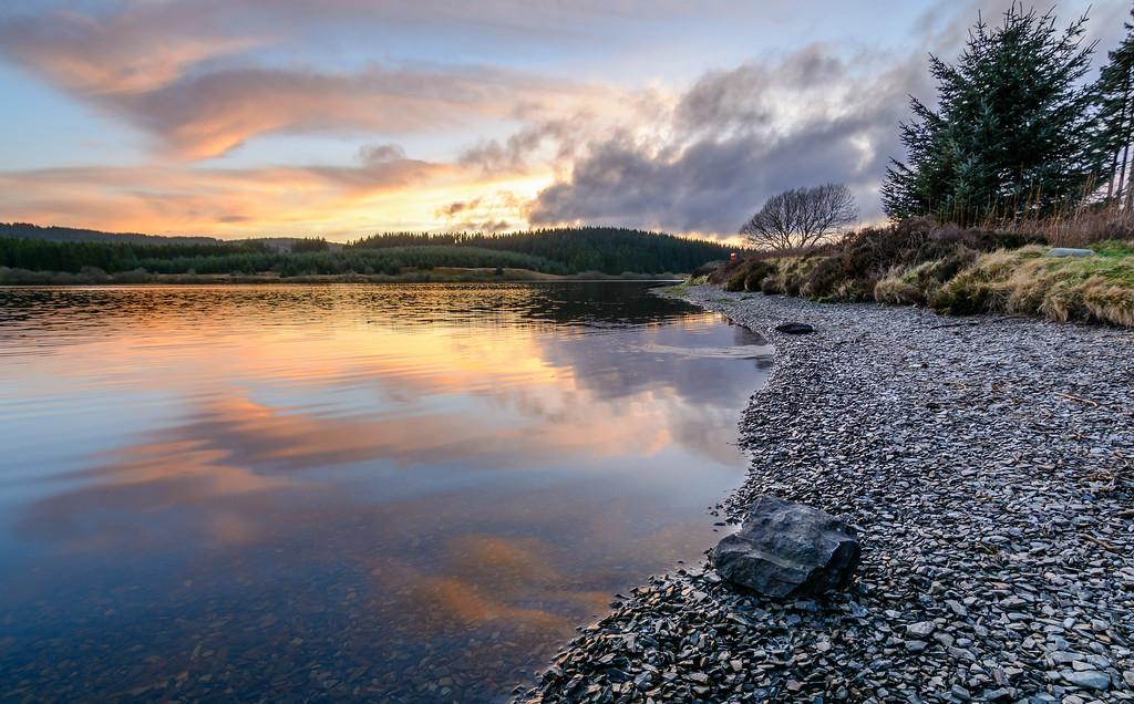 Llyn Brenig Sunset