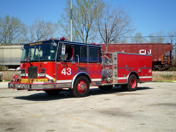 Dixmoor Fire Department(Disbanded)