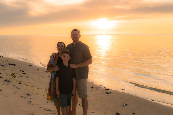 Just the 3 of us, Pacific Resort Aitutaki