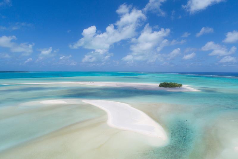 Honeymoon Island from Above