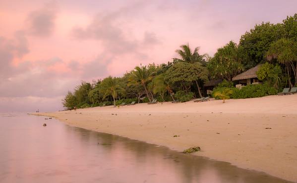 Sunset at Pacific Resort Aitutaki