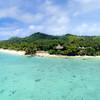 Pacific Resort Aitutaki from the DJI P4P