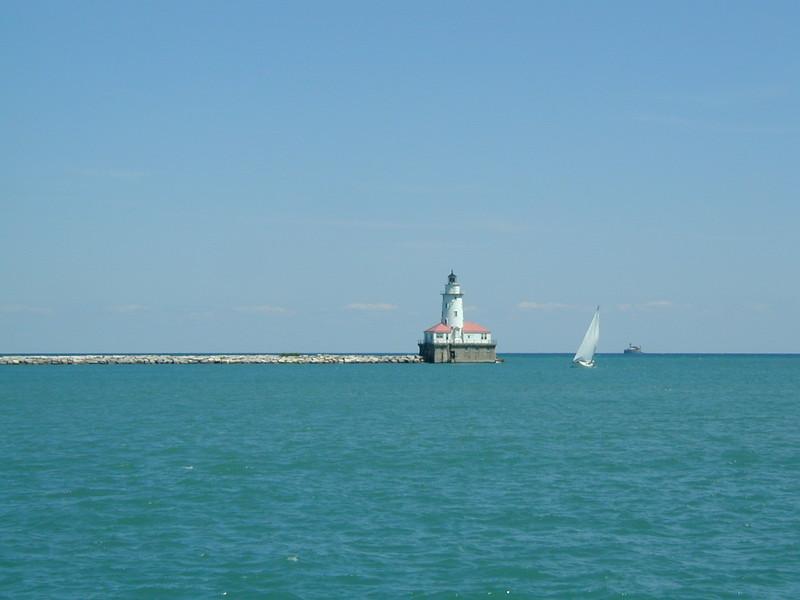 IL navy pier lighthouse