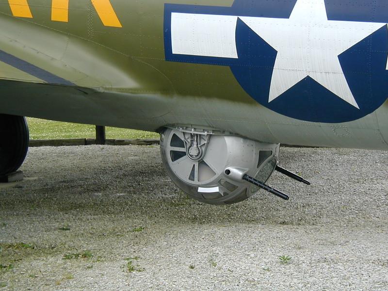 IN grissom bomber guns