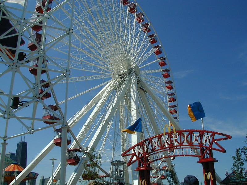 IL navy pier ferris wheel