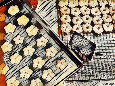 Style - Cookies Fresh Out of the Oven - Kandinsky