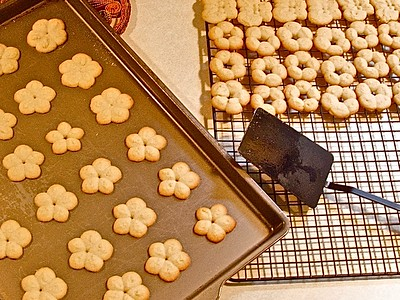 Cookies Fresh Out of the Oven -Original Photo