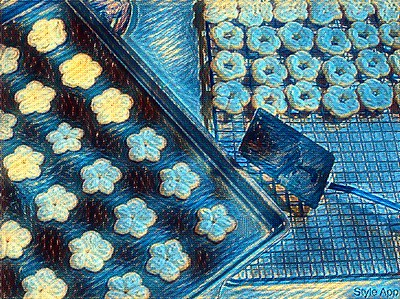 Style - Cookies Fresh Out of the Oven - Starry Night
